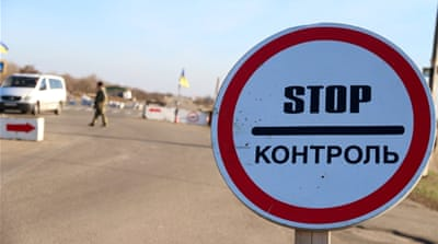 Alliances crumble along the Crimean border