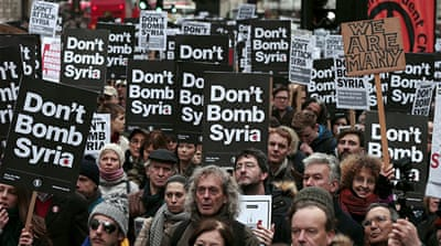 Syrians in UK plead for a vote against air strikes