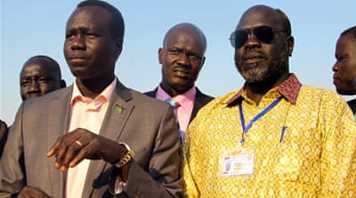 Rebel leaders return to South Sudan pledging peace