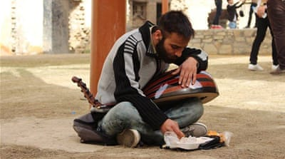 The musician from Diyala