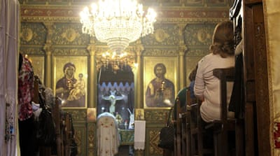 Gaza's Christians: 'Israel can't beat us down'