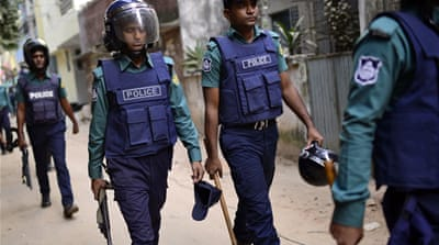 Bangladesh detains members of banned armed group