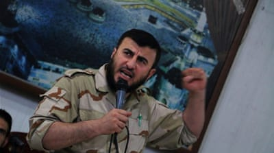 Prominent Syrian rebel commander killed in air strike