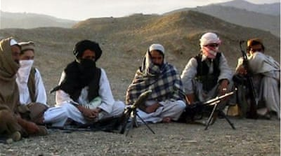 The US, China and Pakistan urged the Taliban to join the negotiating table in the second round of peace talks [AFP/file]