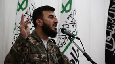 Syrian rebel commander's death imperils peace process