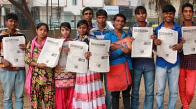 India's slum kid reporters tell stories of street life