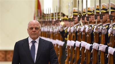 Iraqi Prime Minister Haidar al-Abadi came to power in 2014 [Wang Zhao/The Associated Press]
