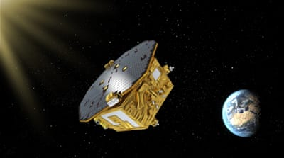 Gravitational wave-test spacecraft launched