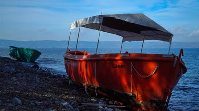 On the shores of Lesbos: Boats, dinghies and life vests