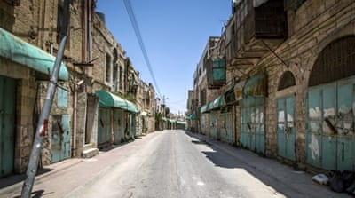 Shuhada Street was once a bustling thoroughfare running through the heart of the West Bank's largest city [Getty]