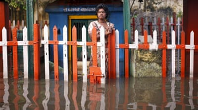 The Indian Meteorological Department says Chennai will get some rain relief in the next two days [Anindito Mukherjee/Reuters]