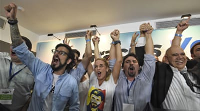 Venezuela opposition wins majority in legislature