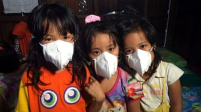 Life under Indonesia's choking haze