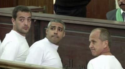 Jailed Al Jazeera staff mark 400 days in Cairo prison
