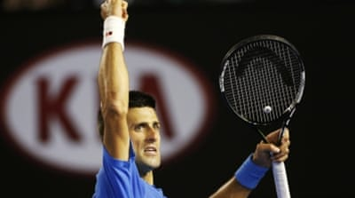 Djokovic has not been beaten in any of his five Australian Open finals [Getty Images]