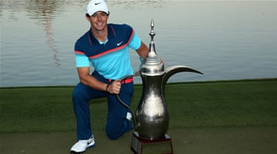 McIlroy's 22-under 266 total matched the lowest in the history of the tournament [Getty Images]