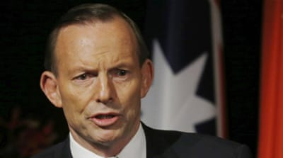 The Queensland state election loss has been partly blamed on Abbott's federal Liberal-National coalition [AP]