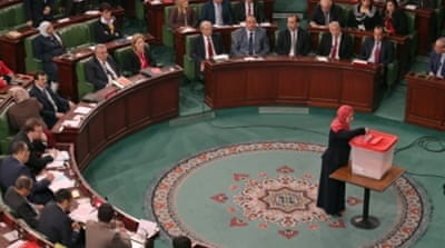 Tunisia parliament approves unity government