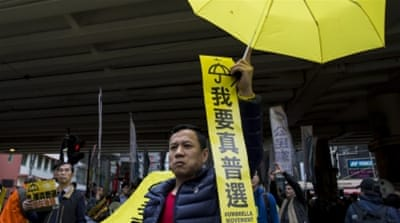 Protest organisers vow to carry out more protests to demand for universal suffrage in Hong Kong [Reuters]