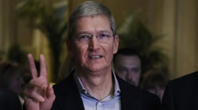 CEO Cook says Apple took some $50bn in revenue in emerging markets over the past calendar year [AP]