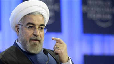 Rouhani's remarks appear to be a response to US President Barack Obama, who on Monday questioned Iran's desire to get a deal done [AP]
