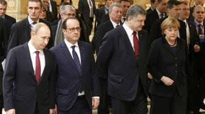 Leaders agree on Ukraine peace roadmap