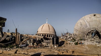 Homes, schools, supermarkets and mosques were destroyed in Operation Protective Edge [Creede Newton/Al Jazeera]