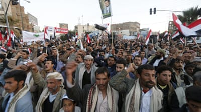 Yemen has been sharply divided between supporters of the Houthi movement and the sidelined central government [Reuters]
