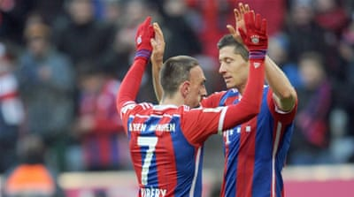 Bayern had won this fixture 9-2 two seasons ago [EPA]