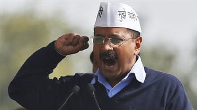Delhi's new chief minister vows to wipe out corruption