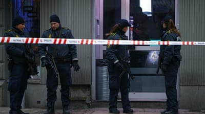 Two men charged with aiding Copenhagen attacker