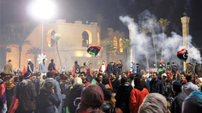 Euphoria swept through Libya after Gaddafi's overthrow, but behind the optimism were ominous signs the state was slowly spinning out of control [Rebecca Murray/Al Jazeera]