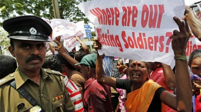 Former Sri Lankan President Mahinda Rajapaksa's military orders led to the resounding defeat of the Tamil Tigers [EPA]