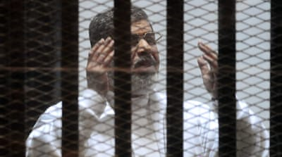 Morsi was overthrown and imprisoned by the military in 2013 [EPA]