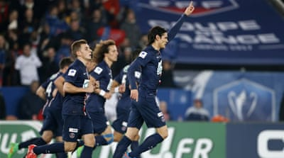 Cavani ensured the hosts ended the game on level terms [Getty Images]