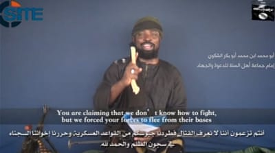 Abubakr Shekau also took aim at the leadership of regional countries who are coordinating efforts against the group