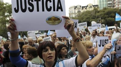 Dead prosecutor becomes symbol for Argentine opposition