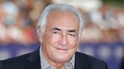 Strauss-Kahn was previously accused of sexually assaulting a hotel maid in a New York hotel [AP]