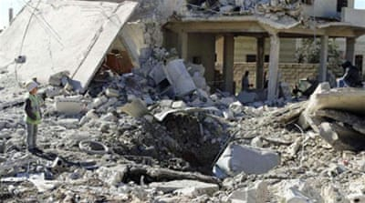 Two-hundred-seventy-one civilians have been killed in airstrikes in January, the Observatory says.