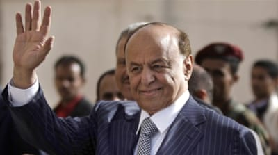 Yemen's Hadi declares Houthi power grab illegal