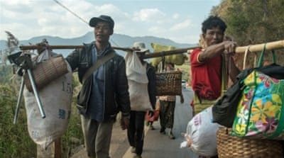 China grapples with refugee influx from Myanmar