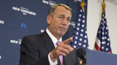 US House of Representatives Speaker Republican John Boehner [EPA]