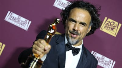 Inarritu was the first Mexican to have his film, 'Birdman', win Best Picture at the Oscars [AP]