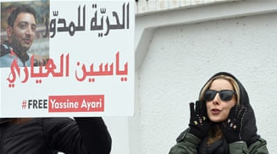 Blogger's case tests Tunisia's tolerance for dissent