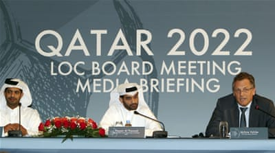 The meeting took place in Doha on Tuesday [AP]