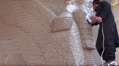 ISIL's war on art across the cradle of civilisation