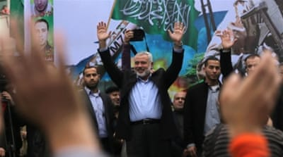 "In January, an Egyptian court also declared Hamas's armed wing al-Qassam a ""terrorist"" organisation [EPA]"