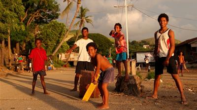 The sound of cricket success in Papua New Guinea