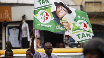 Officials in President Goodluck Jonathan's administration have been calling for a postponement [Reuters]