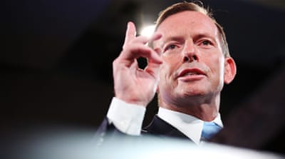 Prime Minister Tony Abbott has been dogged by poor popularity ratings in recent polls [Reuters]